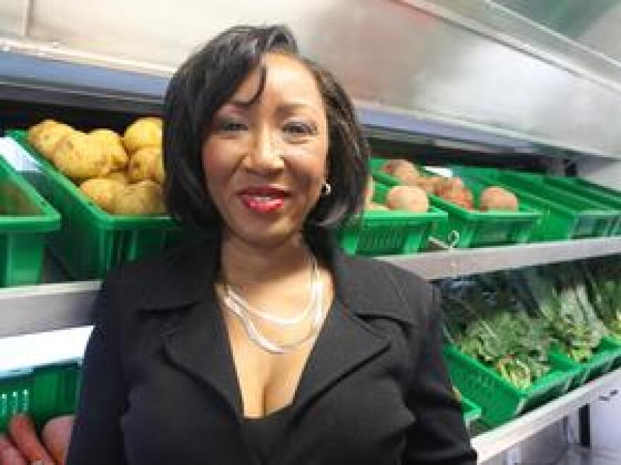 Roniece Weaver, a nutritionist and founding partner of Hebni Nutrition Consultants