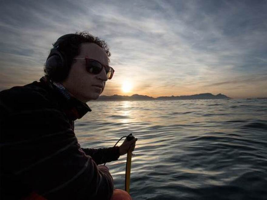 """Neil Hammerschlag is a marine ecologist and director of the <a href=""""http://www.sharktagging.com/"""">Shark Research & Conservation Program</a> at the University of Miami."""