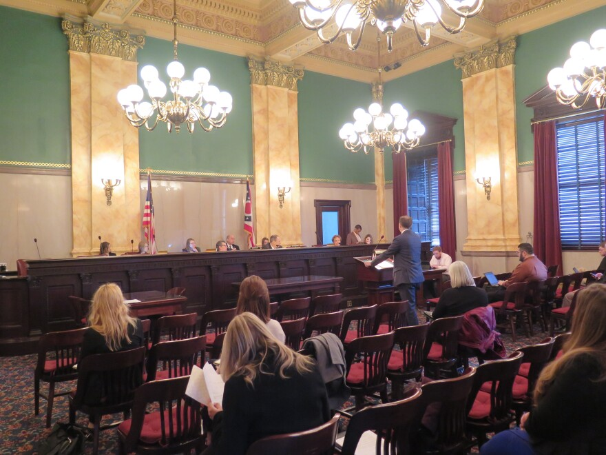 photo of Ohio Senate Ways and Means Committee