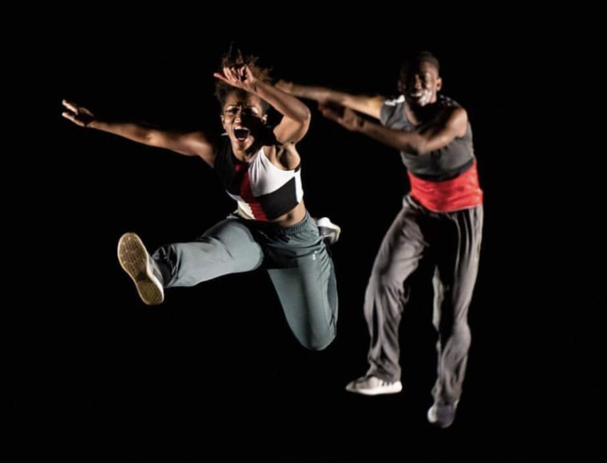 Choreographer Countess Winfrey (left) says she's found new possibilities for her choreography in smaller spaces.