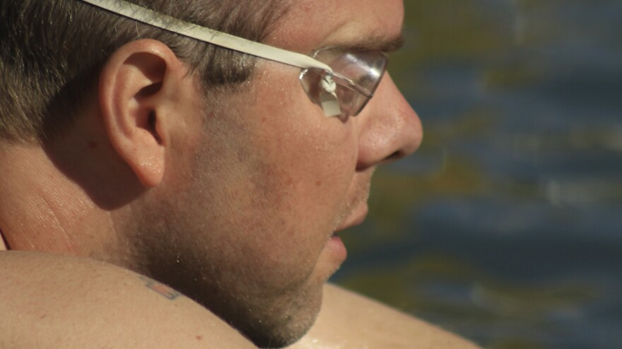 "Goody Tyler, a schoolteacher, earned the ""ice man"" label for swimming a mile in 41-degree water in the Great Salt Lake. He credits that swim and workouts in the lake for helping him withstand the tedium of chemotherapy while being treated for cancer."