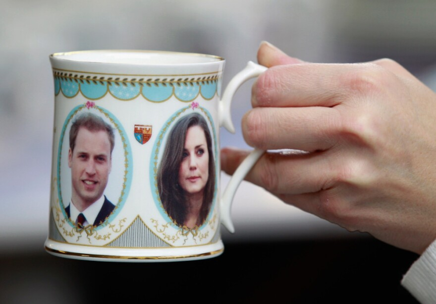 "<strong>Cheers!</strong> No wedding is complete without a toast. Nigella Lawson recommends a drink she's calling ""The Princess"": fizzy wine or champagne with strawberry puree. Bonus points if you drink it out of a commemorative William and Kate mug."