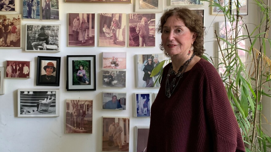 <em></em>Judith Viorst's Washington, D.C. home is absolutely covered in pictures of family.