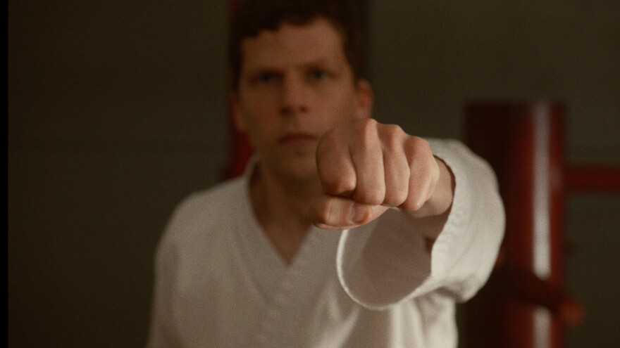 """<em>The Art of Self-Defense</em> is both scathing cultural commentary and dark comedy. The script is """"the funniest thing I've ever read,"""" says star Jesse Eisenberg."""