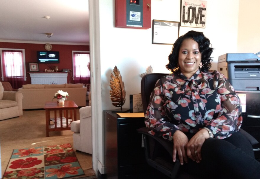 Sonja Chisholm runs Gracious Hands, a transitional housing home in northwest Charlotte.