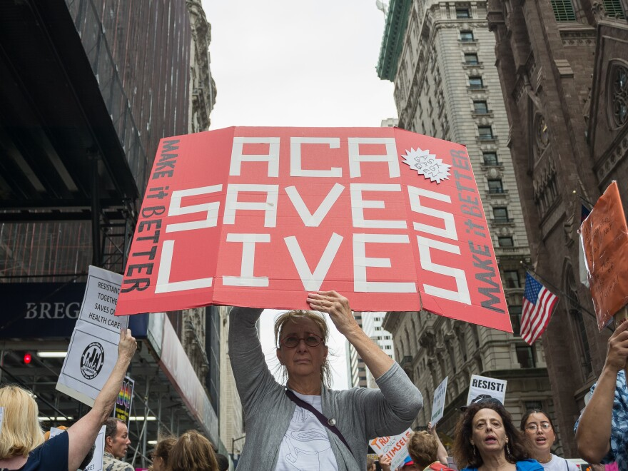 Since its passage, the Affordable Care Act has been the subject of multiple court cases and attempts to derail it in Congress — attempts that garnered protests in 2017 and beyond. The law has survived, so far, but a key provision was struck down Wednesday in federal court.