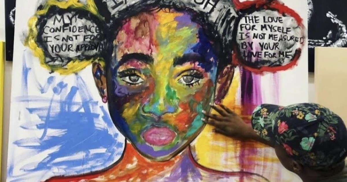 $55K A Year To $55K In Hours: This Charlotte Artist Wants To Inspire Young Creatives