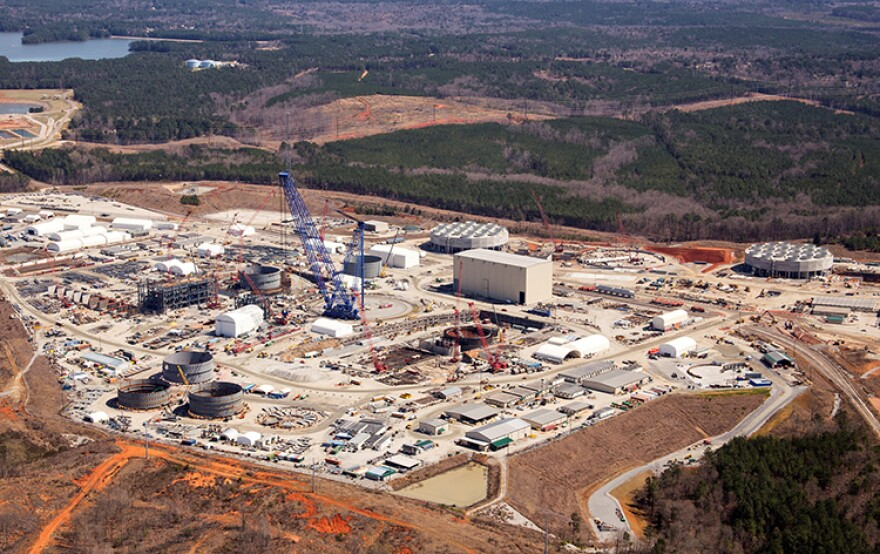Santee Cooper and SCE&G had been adding two reactors at the V.C. Summer nuclear plant in Fairfield County.