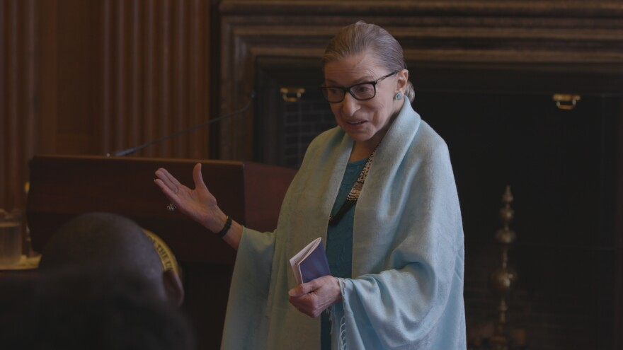 """Yeah You Know Me"": Supreme Court Justice Ruth Bader Ginsburg is the subject of <em>RBG</em>, a documentary about her life and work."