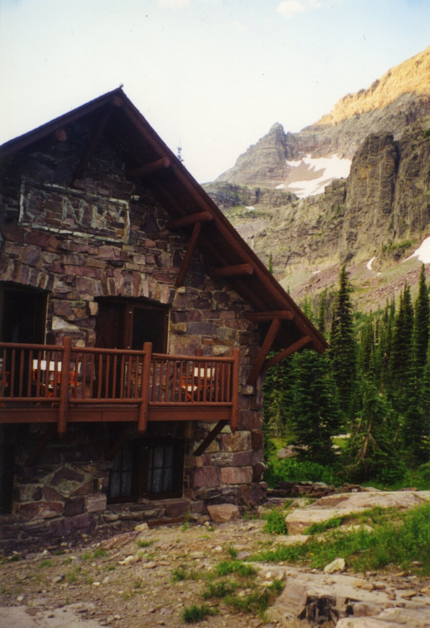The Sperry Chalet was located in Glacier National Park in Montana. The historic building was engulfed in by a wildfire in the park.