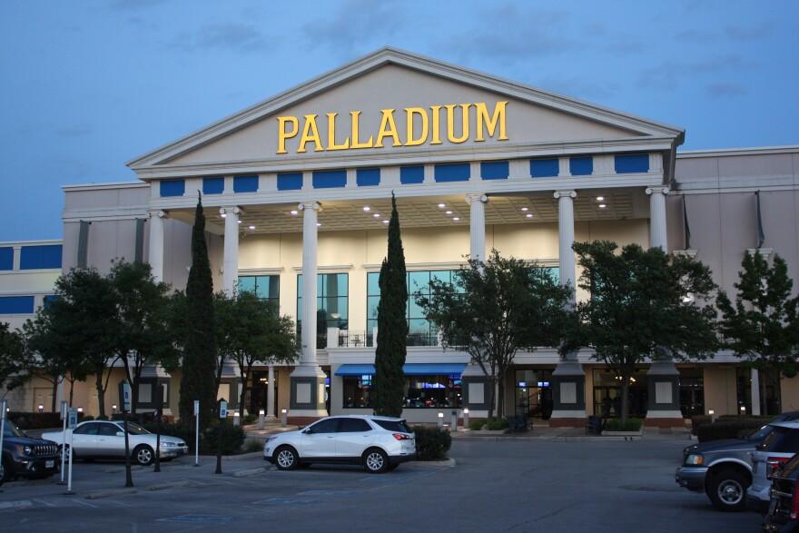The Santikos Palladium on May 14, 2020.