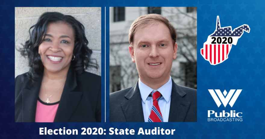 The 2020 state auditor candidates, Mary Ann Claytor and incumbent John McCuskey.