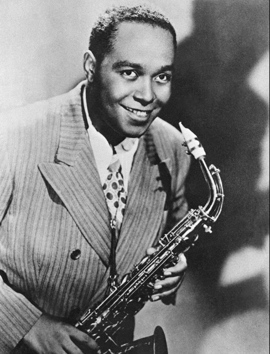 "An undated picture of alto saxophonist and jazz composer Charlie Parker (1920-1955). He is considered by many to have been the father  of the modern jazz style known as ""bebop""."