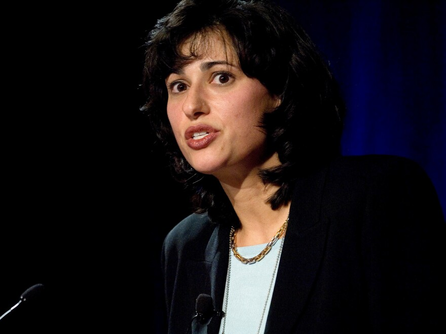 "Dr. Rochelle Walensky, is President-elect Joe Biden's pick to head the CDC. She is seen above speaking at the ""Opportunities For Improving HIV Diagnosis, Prevention & Access To Care In The U.S."" conference in Washington, D.C., in 2006."