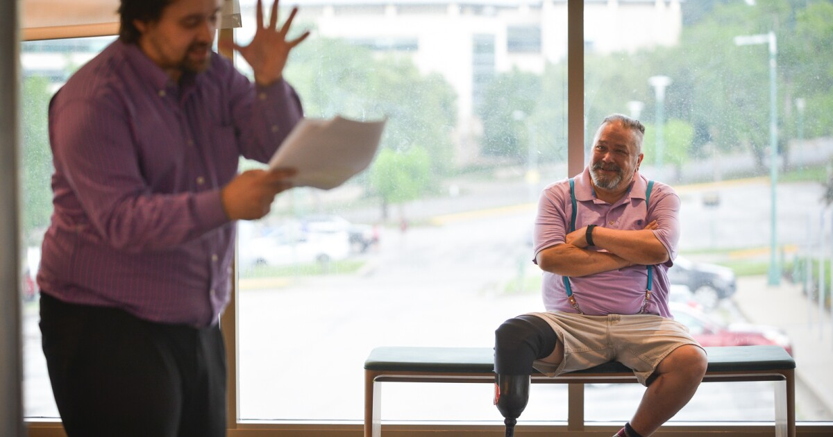 Playwright Philip Blue Owl Hooser Creates A Comedy To Celebrate The Founding Of Kansas City
