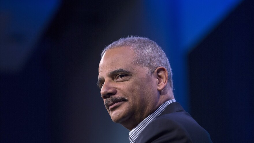 Former Attorney General Eric Holder is now the chairman of the National Democratic Redistricting Committee. He says he doesn't want Democrats to draw maps that advantage their party, and instead wants to take partisanship out of the redistricting process.