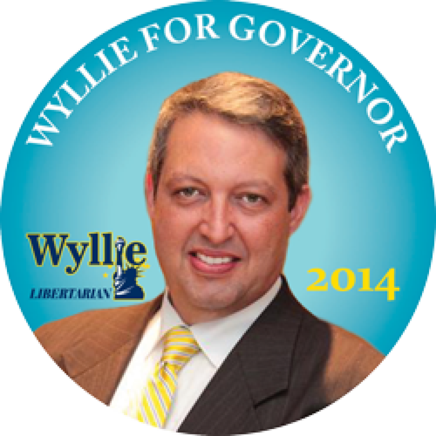 Wyllie is Florida's Libertarian candidate for Governor