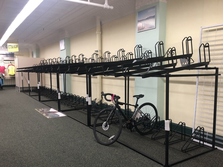 Kozy's Cyclery in Chicago is one of the bike shops across the country finding it hard to keep shelves stocked.