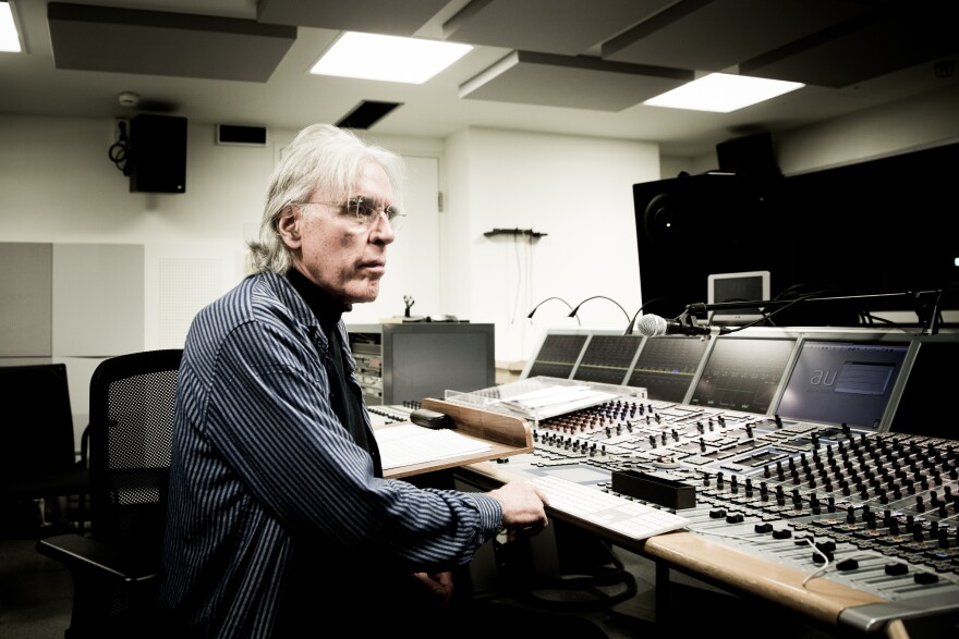 Musical Director for the Philip Glass Ensemble, Michael Riesman.
