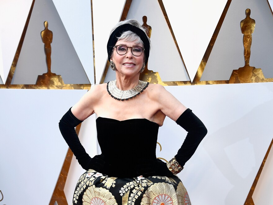 Rita Moreno attends the 90th Annual Academy Awards at Hollywood & Highland Center on March 4 in Hollywood, Calif.