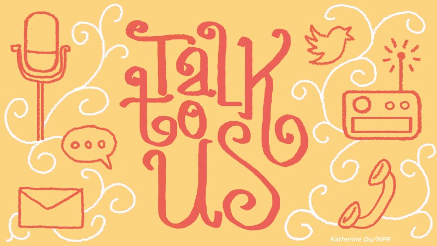 Talk to us illustration