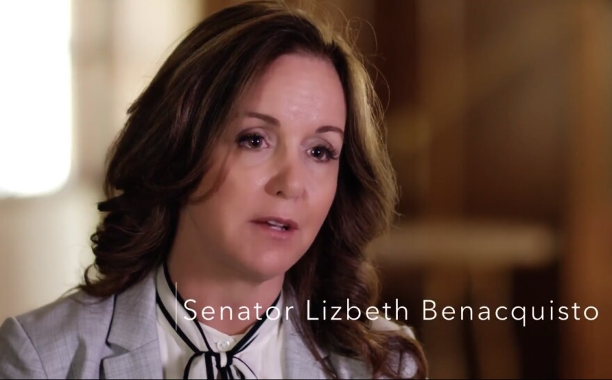 Senator Benacquisto (R-Fort Myers) in her new video.