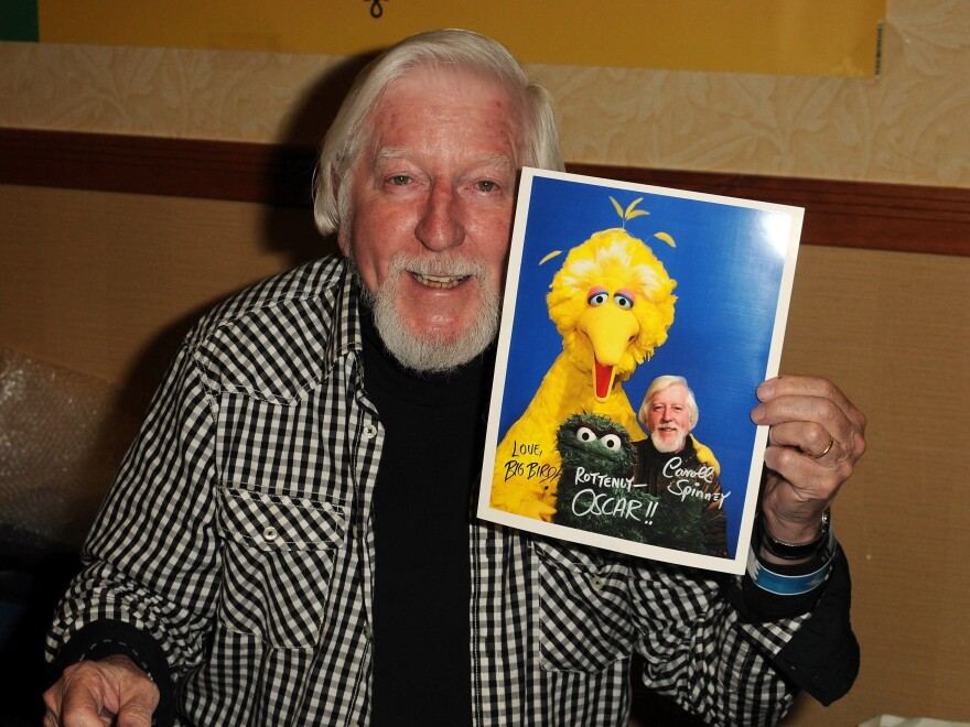 Puppeteer Caroll Spinney who played Big Bird and Oscar the Grouch on <em>Sesame Street</em>, died Sunday at age 85.