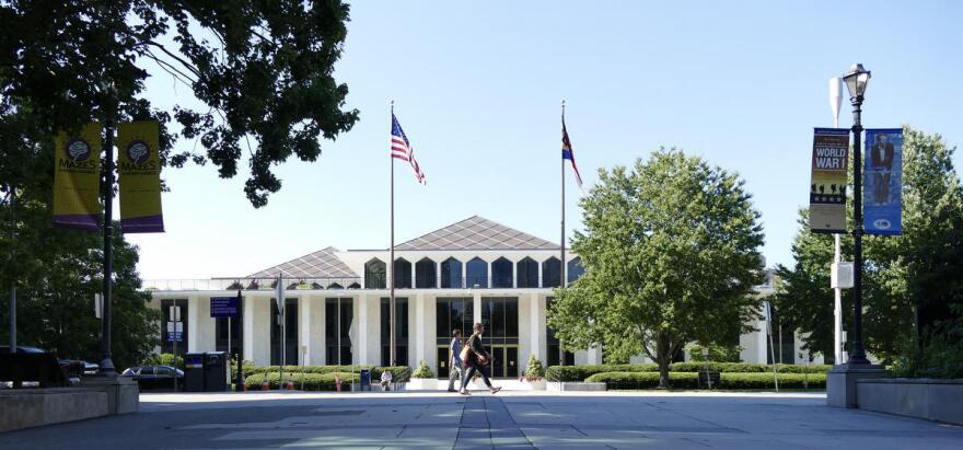 The North Carolina legislative building is seen in Raleigh.
