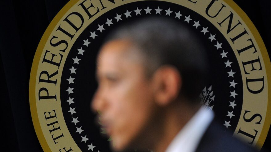 President Obama speaks Wednesday while meeting with citizens at the White House. Obama called on Republicans to halt an automatic tax hike for middle-class Americans.