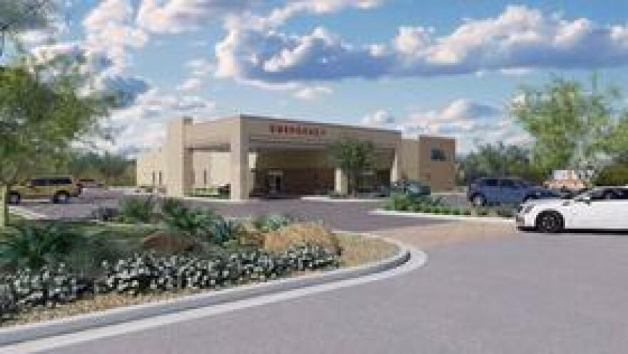 Artist's rendering of the emergency room facilities being built by Capital Regional Medical Center.