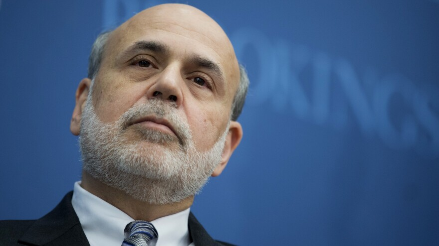 Outgoing Federal Reserve Chairman Ben Bernanke spoke about the Federal Reserve's first and next century on Thursday at the Brookings Institution in Washington.