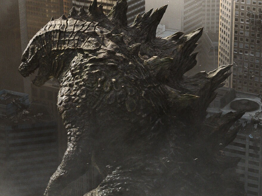 Godzilla. You know, from <em>Godzilla</em>.