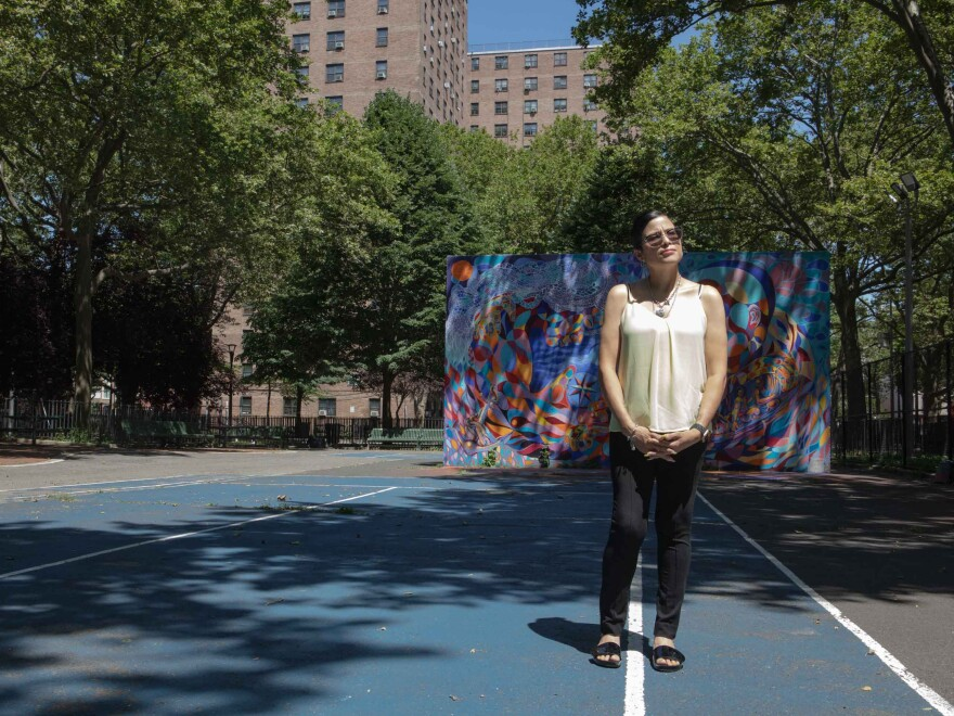 When Nancy Perez contracted COVID-19 in March, she stayed in her room for a month, isolating herself from her sons and grandson. The mutual aid group Bed-Stuy Strong regularly sent volunteers to her home with meals for her family.