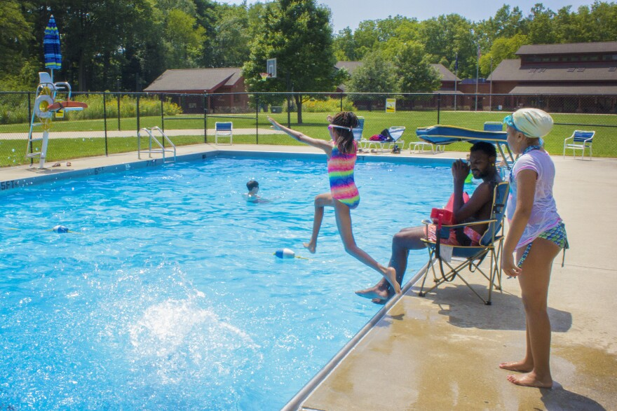 The Tataya Mato week at Jameson Camp in Indianapolis is a free sleep away camp for children impacted by HIV/AIDS.