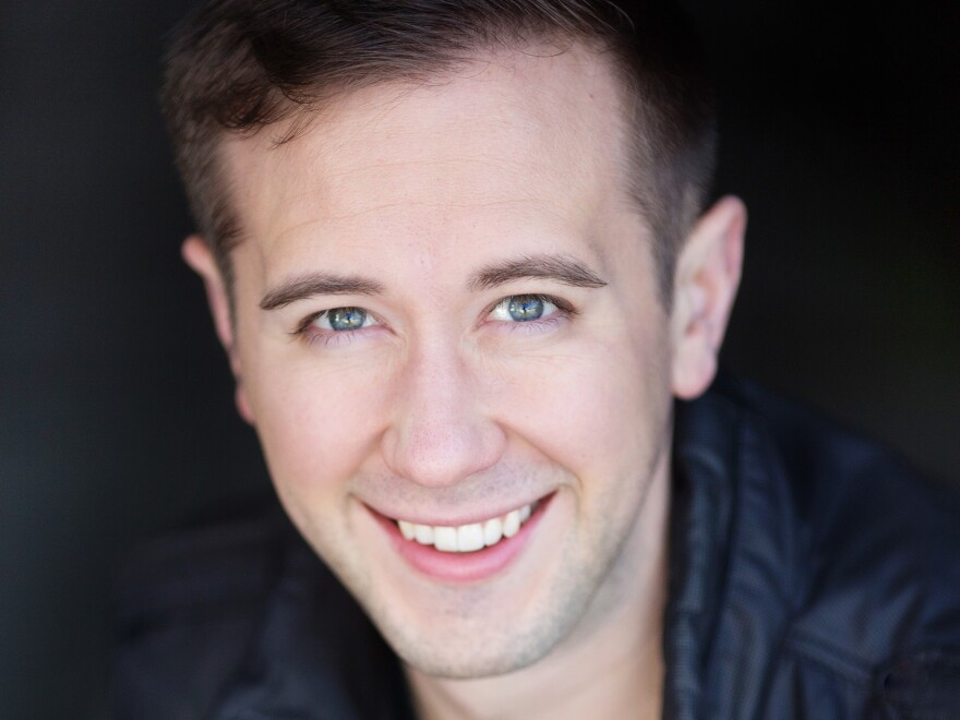 Baritone Samuel Schultz, who resigned Monday from the board of AGMA.