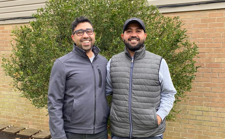 Mohamed and Ali Al-Hamdani