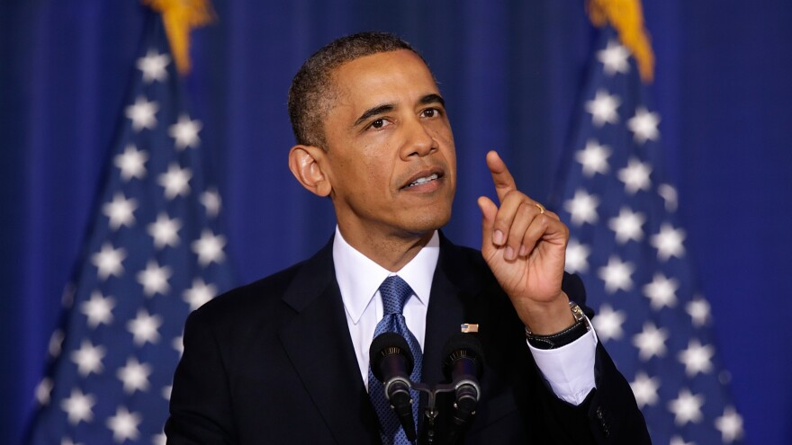 President Obama speaks at the National Defense University in Washington, D.C., on May 23.