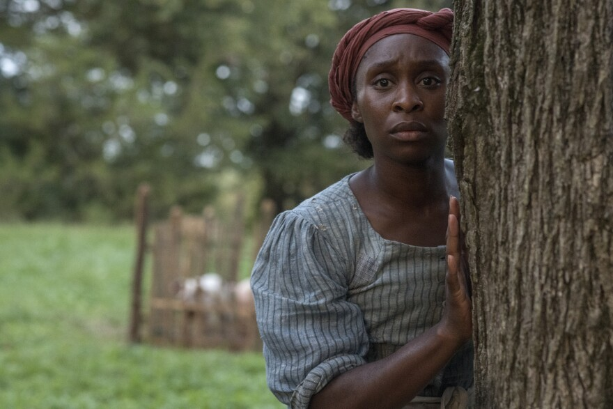 Cynthia Erivo stars as Harriet Tubman in the biopic <em>Harriet</em>.