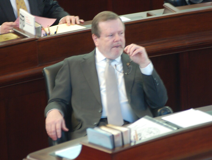 "File photo of State Senate leader Phil Berger, who is demanding answers from the North Carolina prison system following a news report of the death of a Caswell Correctional Center nurse diagnosed with COVID-19. ""The report points to a systemic failure of accountability, competence, and execution, and I want answers,"" Berger wrote in a letter to state Commissioner of Prisons Todd Ishee Friday."