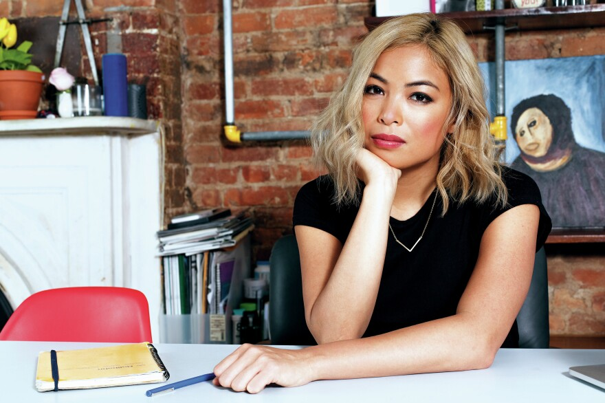 """When she was growing up, <em>New Yorker</em> culture writer Jia Tolentino attended a Houston megachurch with her family. """"The population was extremely white and wealthy, which my family was not,"""" Tolentino says. Her new book is called <em>Trick Mirror: Reflections on Self-Delusion.</em>"""