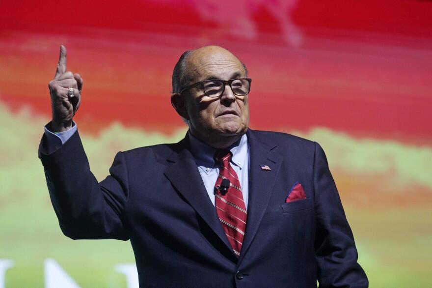 Trump attorney Rudy Giuliani's own role in the Ukraine affair has come under scrutiny.