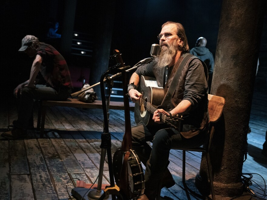 Working on <em>Coal Country</em> helped Steve Earle write his upcoming album, <em>Ghosts</em> <em>of West Virginia.</em> Seven songs from that record are featured in the play.