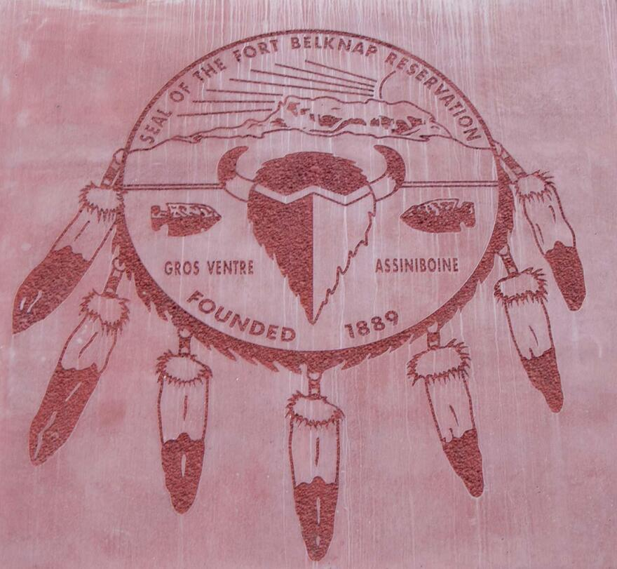 The Seal of the Fort Belknap Reservation