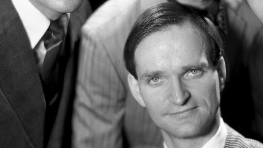 Florian Schneider, photographed in 1975.