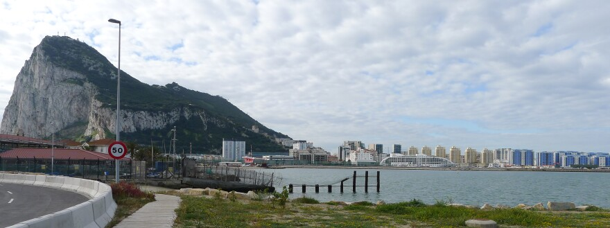The Rock of Gibraltar, and Gibraltar's marina. The British territory at the southern end of Spain was known as a tax haven and hosts an office of Mossack & Fonseca, the law firm at the center of the Panama Papers. However, Gibraltar amended its laws five years ago and sees itself as a low-tax place that's attractive for international business.