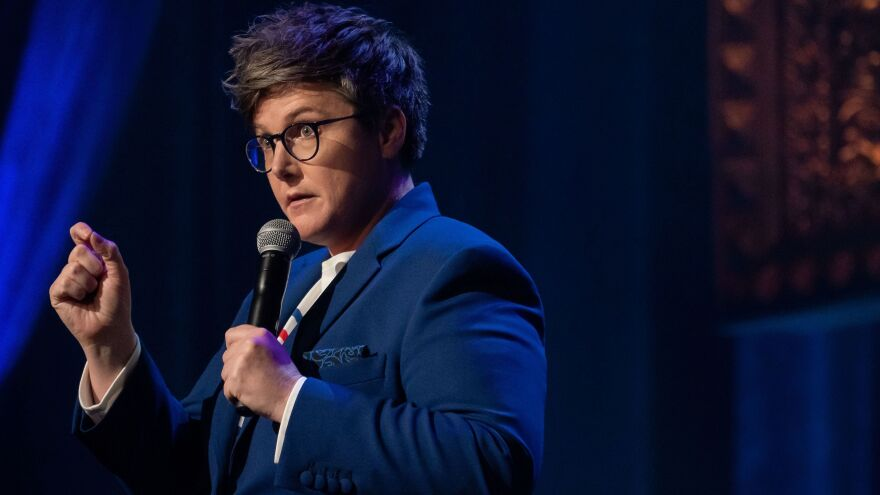 """In many ways I appear very good at being social,"" says comic Hannah Gadsby. ""But it's an incredibly exhausting process for me."" She found her autism spectrum diagnosis in 2016 helped put her experience into perspective."
