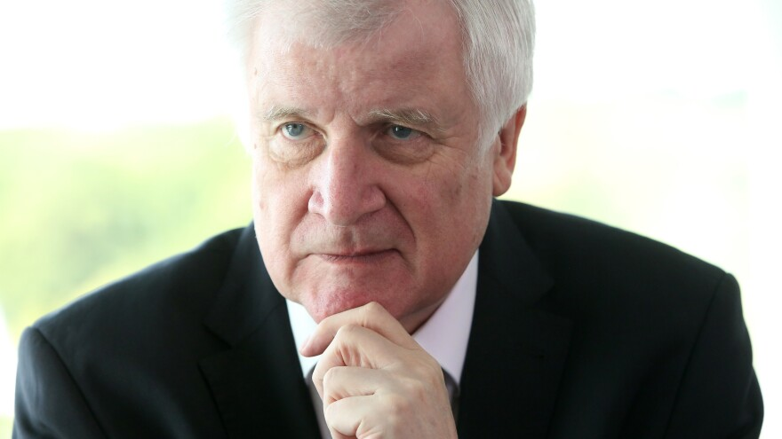 Germany's Interior Minister Horst Seehofer at a Cabinet meeting last month in Berlin.