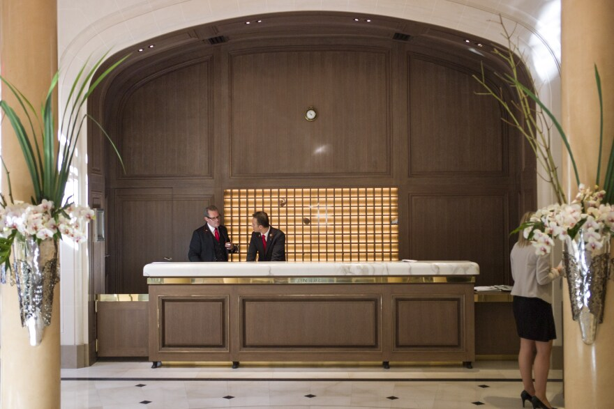 Rather than sitting behind imposing marble desks, members of the Les Clefs d'Or USA, an elite fraternity of concierges, are thinking of new ways to approach guests.