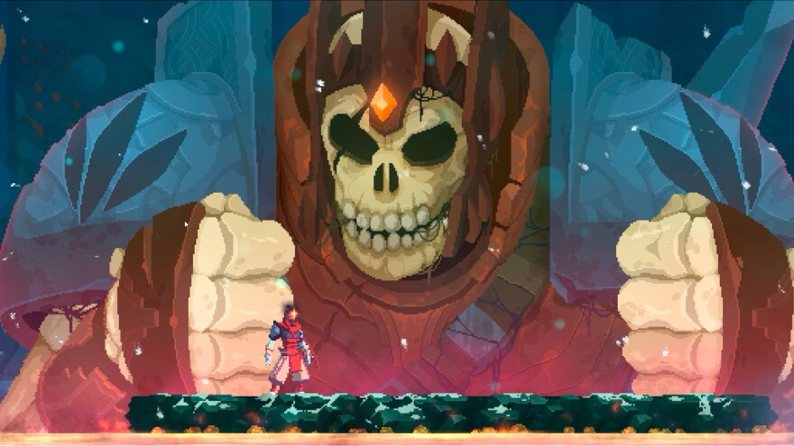 This is not a representation of what 2020 felt like — it's a screen shot from <em>Dead Cells.</em>