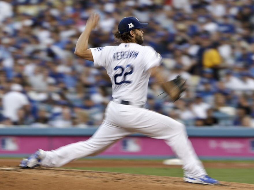 Los Angeles Dodgers pitcher Clayton Kershaw has been called the best pitcher of his generation, but he'll meet his match with Houston, the best-hitting team.